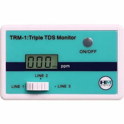 TRM-1 HM Triple TDS Monitor - dreifache TDS Messung display 400