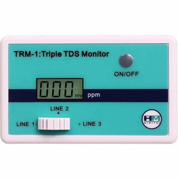 TRM-1 HM Triple TDS Monitor - dreifache TDS Messung display q
