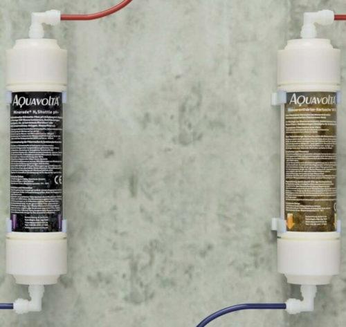 Duo Filterserie Aktivkohle-Filter+ H2 Shuttle pH+