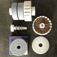 Halterung Minerade® Tabs und Contragion Antikeim-Kugeln mit Gold k