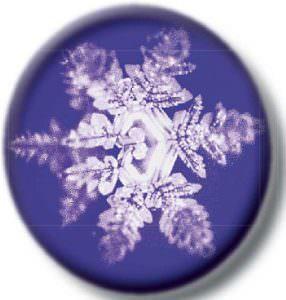 Wasserkristalle Flocke