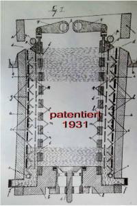 Komplexe Konstruktionszeichnung