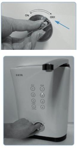 Inbetriebnahme Aquavolta Basic Wasserionisierer 7 Elektroden