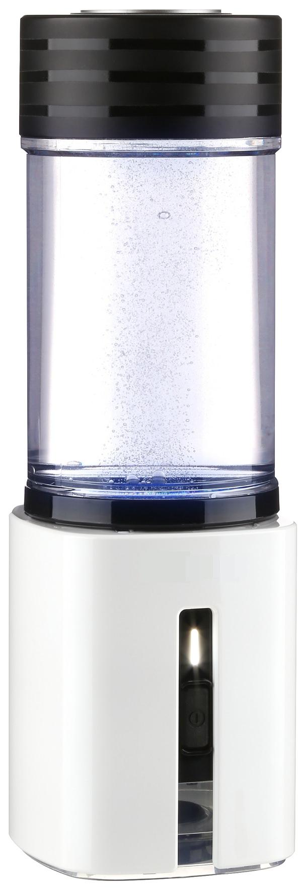 AquaVolta Wasserstoff Booster portable PEM Hydrogen generator mit Druckgefäß -seitlich