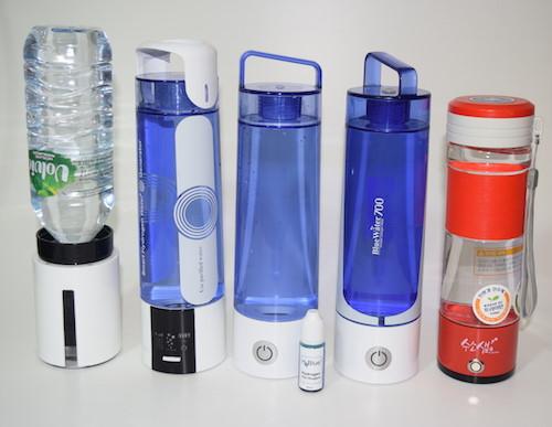 5 akkubetriebene PEM Wasserionisierer - Wasserstoff Booster 500