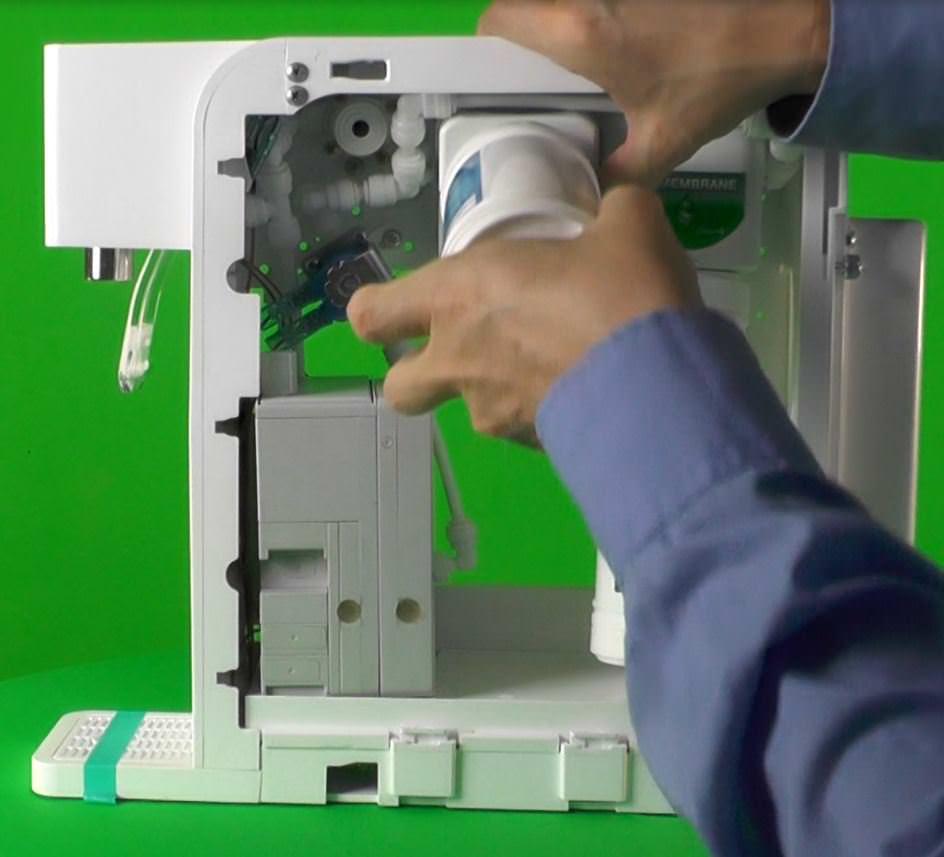 H2FX Hydrogen Infusion Machine - hydrogen water Filter 1 Wechseln