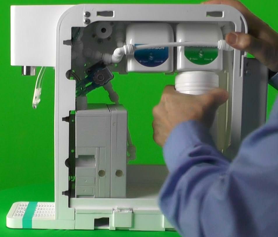H2FX Hydrogen Infusion Machine - hydrogen water Filter 2 Wechseln