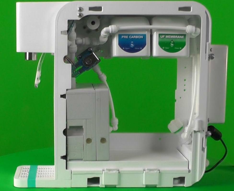H2Fx Hydrogen Infusion Machine - hydrogen water offen links 2