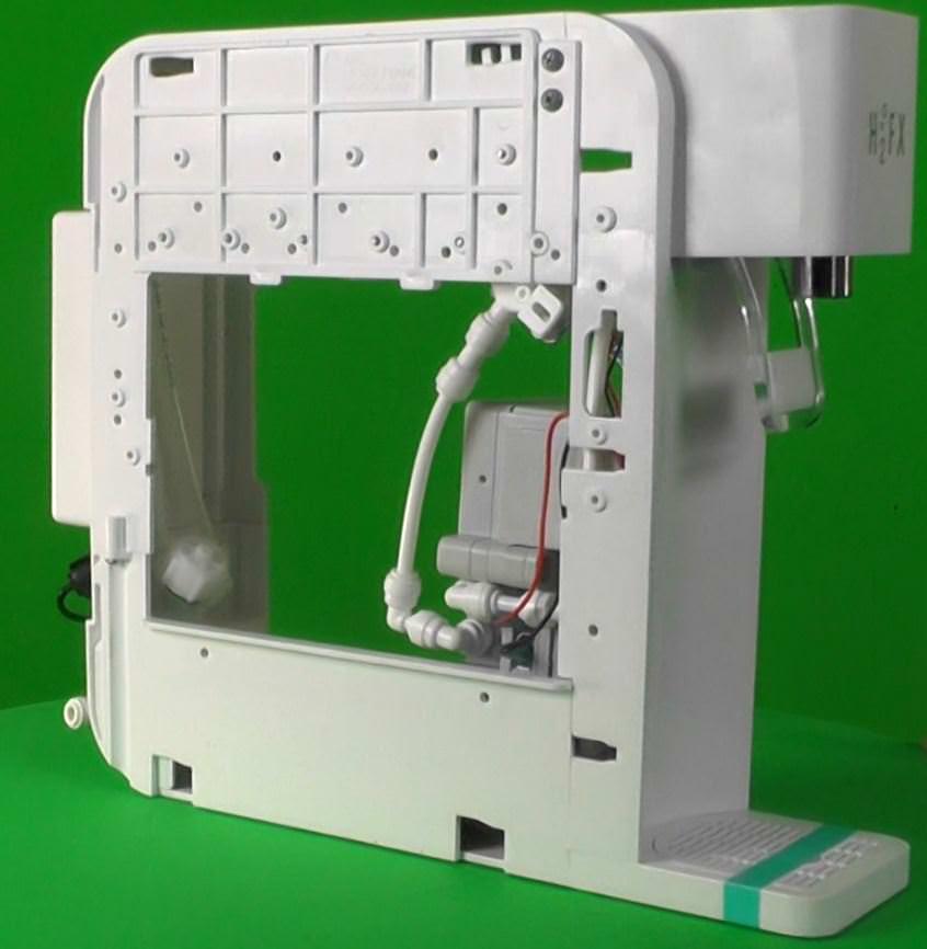 H2Fx Hydrogen Infusion Machine - hydrogen water offen rechts