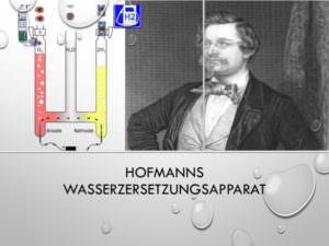 10-Hofmanns Wasserzersetzungsapparat