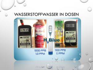 35-Wasserstoffwasser in Dosen