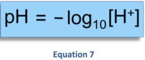 Zusammenhang zwischen dem geloesten H2 - ph-Wert und Redoxpotential Equation 7